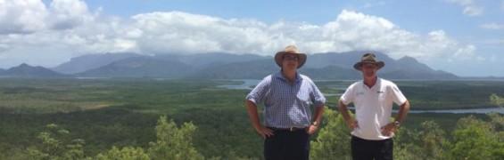 panoramic views at panjoo lookout