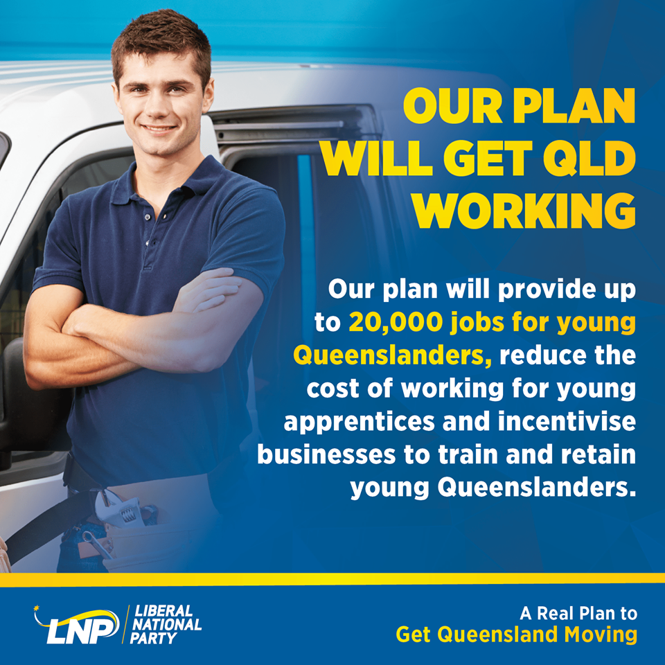 Our Plan to get Qld Working