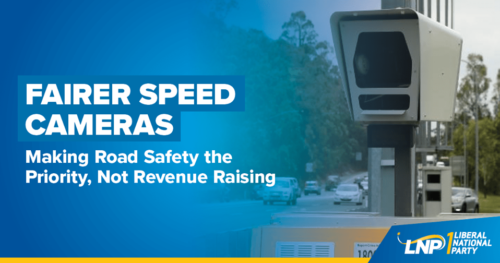 Speed camera focus on safety
