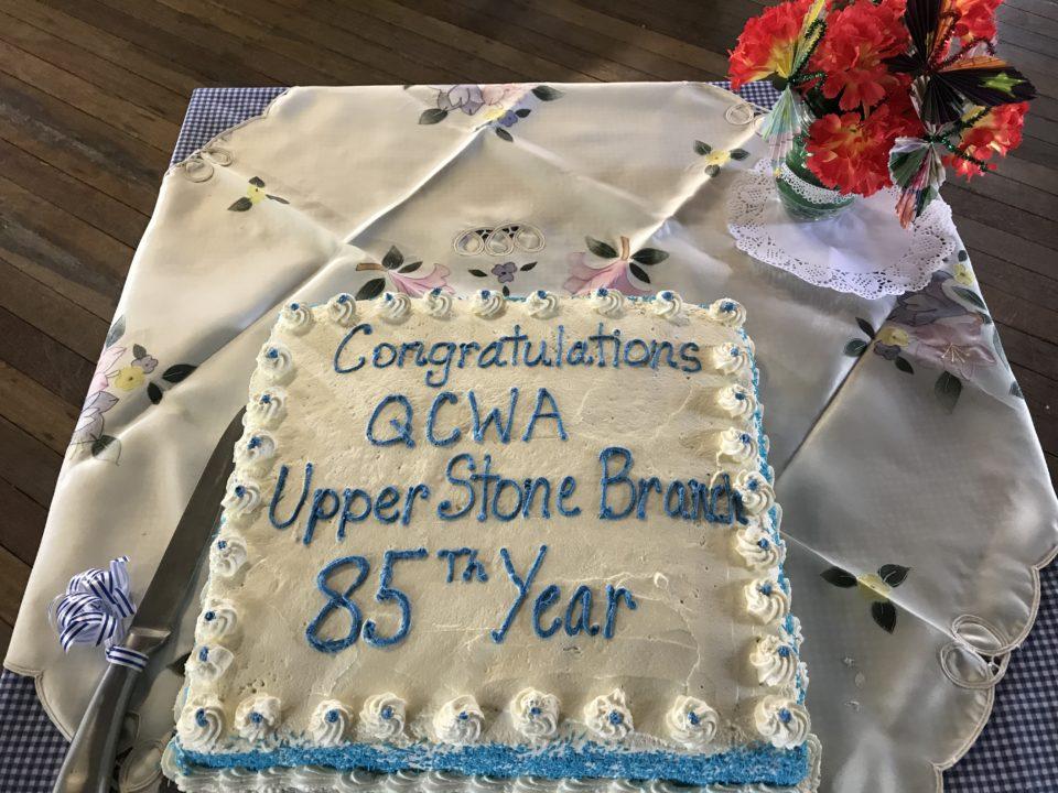 Upper Stone QCWA 85 Years